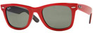 Ray Ban Wayfarers in Red