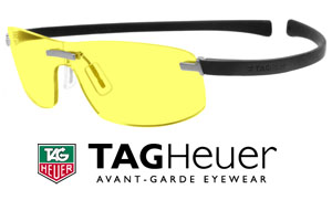 TAG Heuer Night Glasses for Night Driving and Low Light Conditions