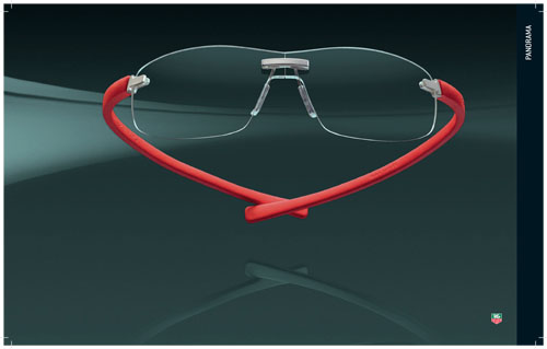 TAG Heuer Panorama Series Eyeglasses
