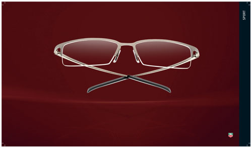 TAG Heuer 4000 Classic Sports Series Eyewear