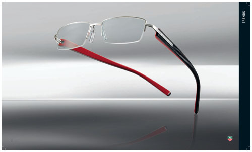 TAG Heuer 8000 Trends Series Eyeglasses