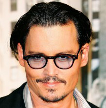 Johnny Depp in Eyeglasses