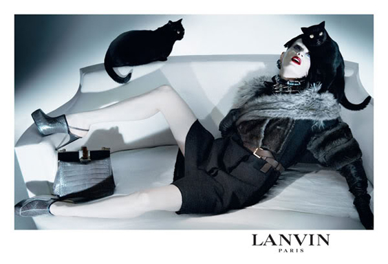Lanvin 2009-2010 Collection - Here Kitty Kitty
