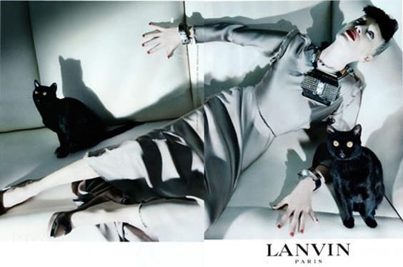 Lanvin-Paris 2009/2010 Campaign