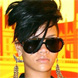 Rihanna in Lanvin-Paris Pilot Sunglasses