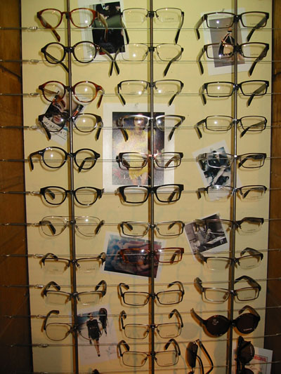Urban Optiques Lanvin-Paris Eyewear Collection Custom Display