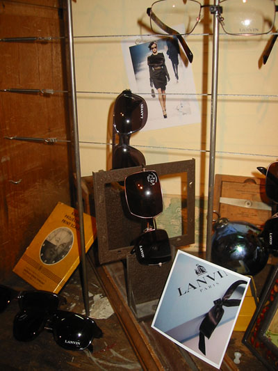 More Lanvin Sunglasses with Picture of Lanvin-Paris' Famous Box and Packaging