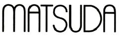 Matsuda Eyewear Logo