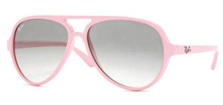 Ray Ban Cats RB-5000-4125 Sunglasses Pink Gradient Grey