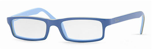 ray ban junior eyeglass frames  ray ban junior eyeglasses rb1517 in blue frame