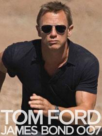 Tom Ford TF108 Aviator Sunglasses as featured in Quantum of Solace