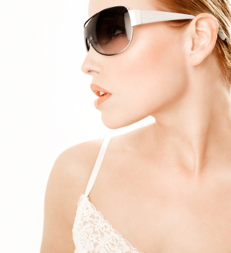 Woman In Designer Sunglasses