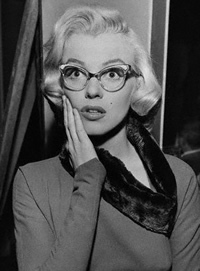 Marilyn ... In Glasses!