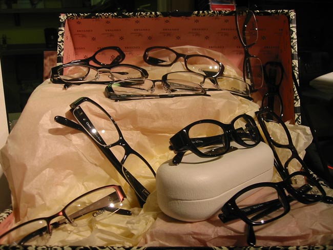 Chloe Eyeglasses from Urban Optiques Chloe Collection