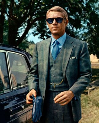 Steve McQueen in Persol Sunglasses in The Thomas Crown Affair