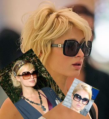 Chrome Hearts Queenie Sunglasses Seen On Paris Hilton