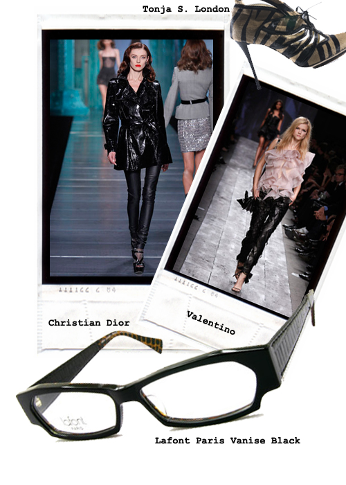 Lafont Venise Black Good To Be Bad Spring Fashion 2010