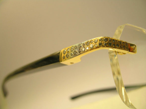 Glasses Frames With Diamonds : The FRED Luxury Eyeglass Collection from Urban Optiques