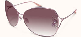 Badgley Mischka Garbo Sunglasses Aviator Style