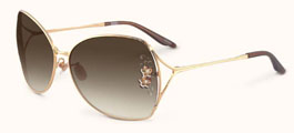 Badgley Mischka Ginger Sunglasses Aviator Style