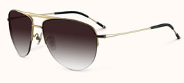 Badgley Mischka Hayden Aviator Sunglasses