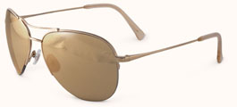 Badgley Mischka Special Edition Perry Aviators with 24K Gold or 18K Gold Lenses