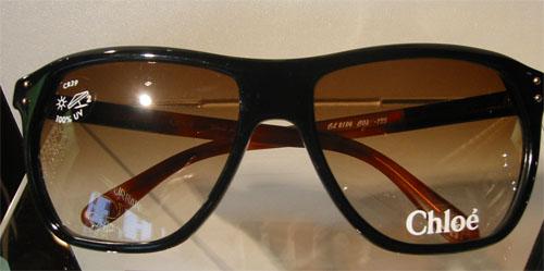 Chloé Black Sunglasses