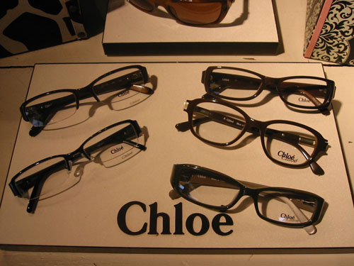 Chloé Eyeglasses on Display at Urban Optiques