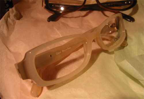Chloé Eyeglasses in Cream