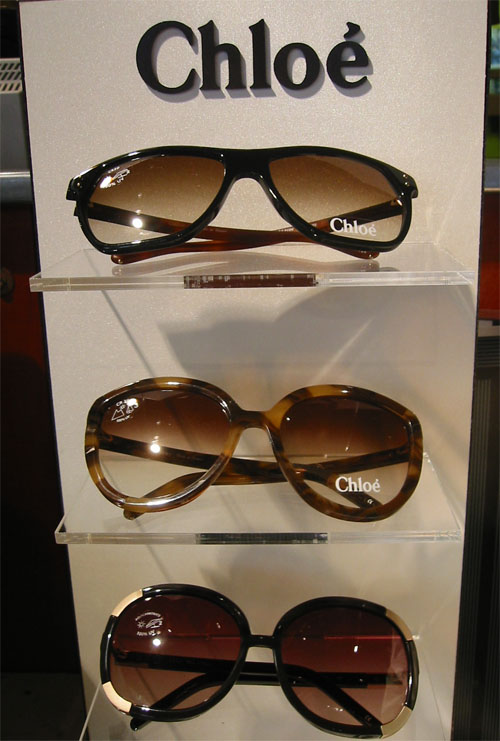 2010 Chloé Sunglasses On Display at Urban Optiques