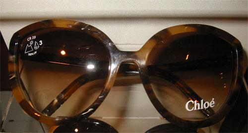 Chloé Tortoise Sunglasses Round