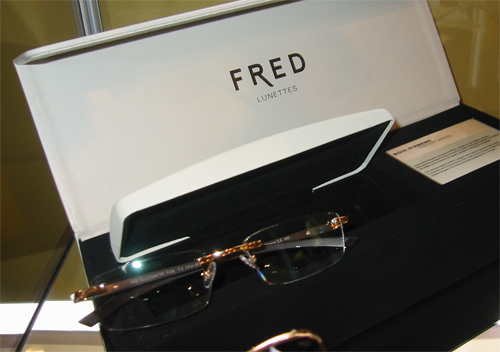 Close Up of FRED Eyeglasses
