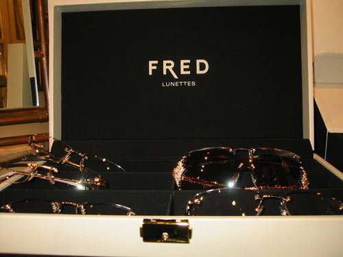 Fred Paris Lunettes Prestige Collection Display
