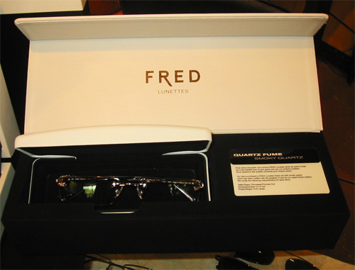 FRED Prestige Eyeglasses with Quartz Fume (Smoky Quartz)