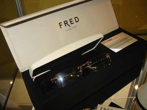 FRED Prestige Bois D'Ebene Eyeglasses (Ebony Temples)