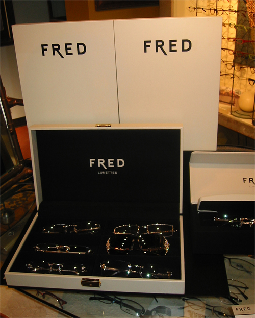 Fred-Paris Prestige Collection Featuring Precious Gems, Diamonds and Exotic Woods
