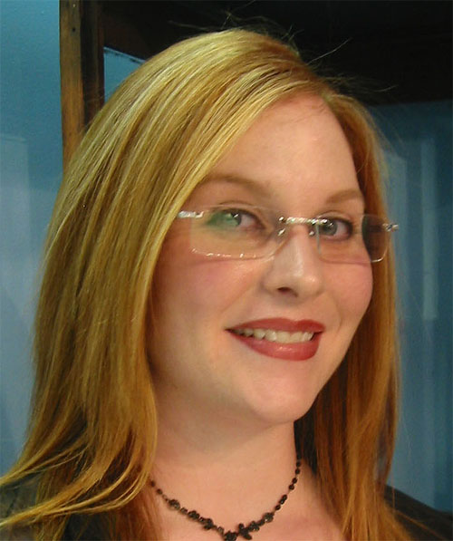 Urban Optiques Practice Manager Lindsey In Fred Prestige Diamond Lunettes