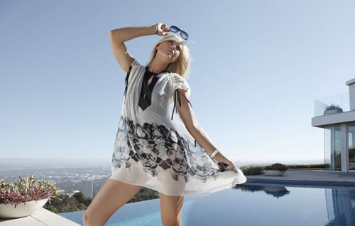 TAG Heuer Maria Sharapova Sunglasses Fashion Shoot