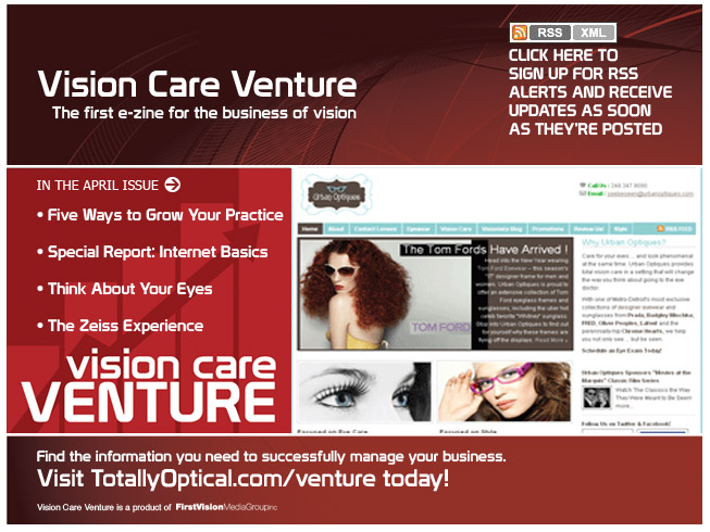 Vision Care Venture Urban Optiques Cover Story