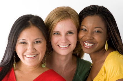 Image of Three Women: Research Indicates Women May Be More Prone to Eye Disease