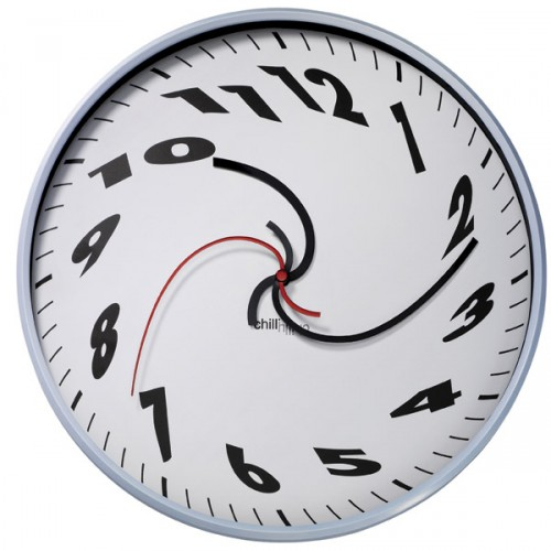Image of a Dali-Esque Wall Clock