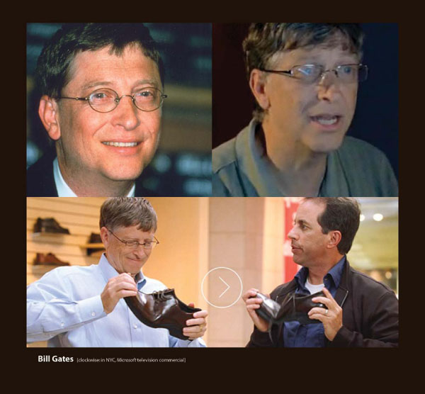 Bill Gates in Eyeglasses by Sama Eyewear
