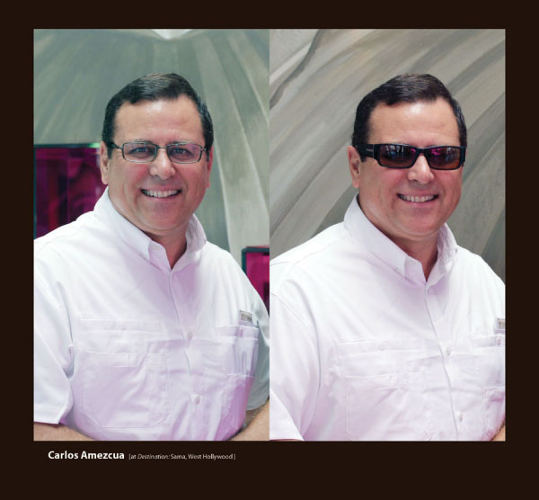 Carlos Amezcua in Sama Sunglasses