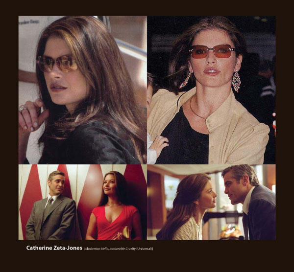 Catherine Zeta Jones Sunglasses by Sama Couture Eyewear