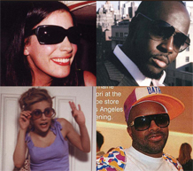 Hollywood Loves Sama Eyewear!