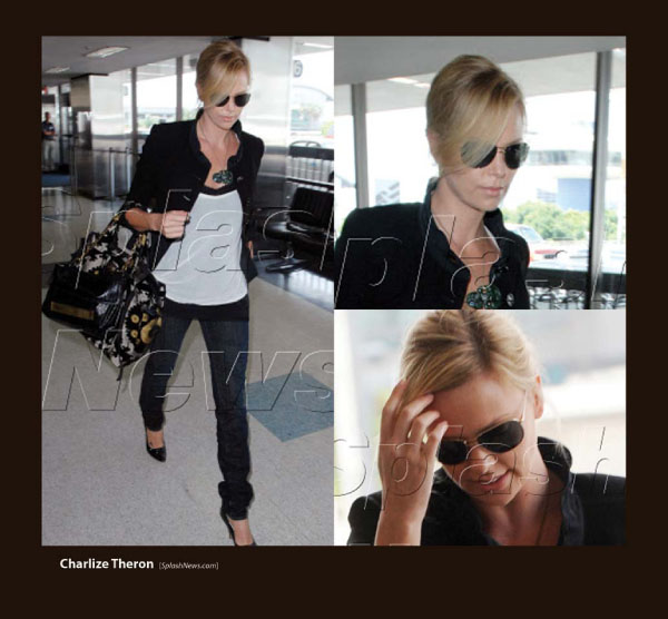 Charlize Theron Sunglasses by Sama Couture Eyewear