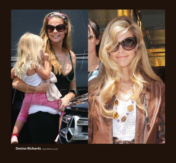 Denise Richards in Sama Sunglasses