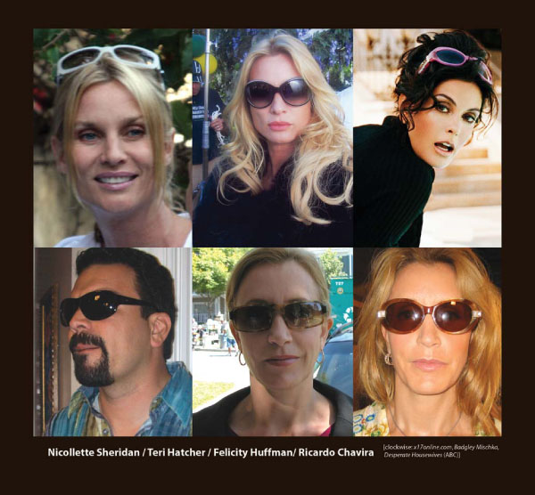 The Cast of Desperate Housewives in Sama Sunglasses