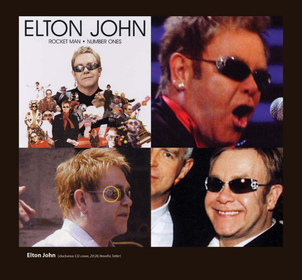 Elton John in Loree Rodkin