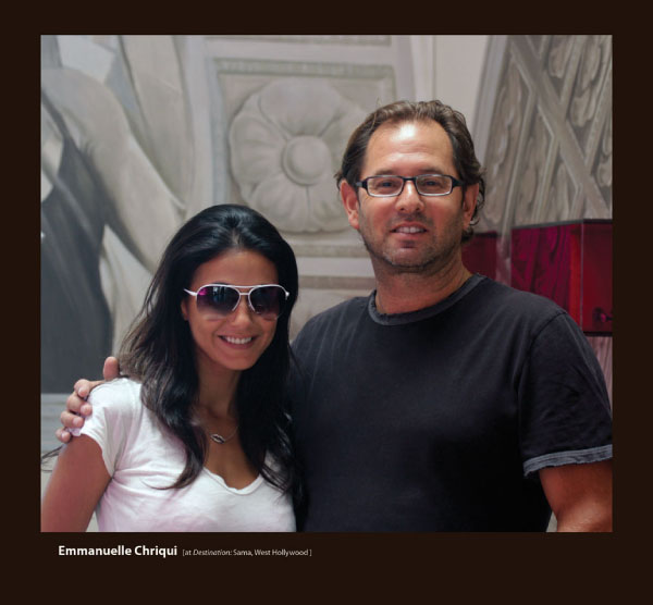 Emmanuelle Chriqui in Sunglasses by Sama
